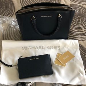 New MK bag and matching clutch